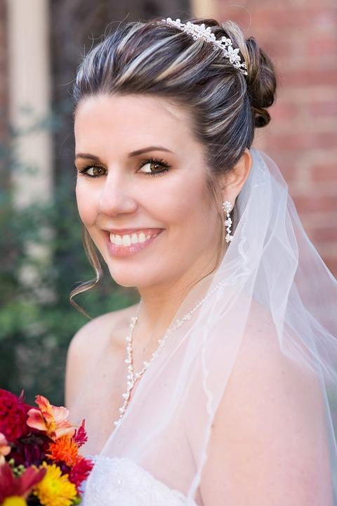 White Teeth Bride